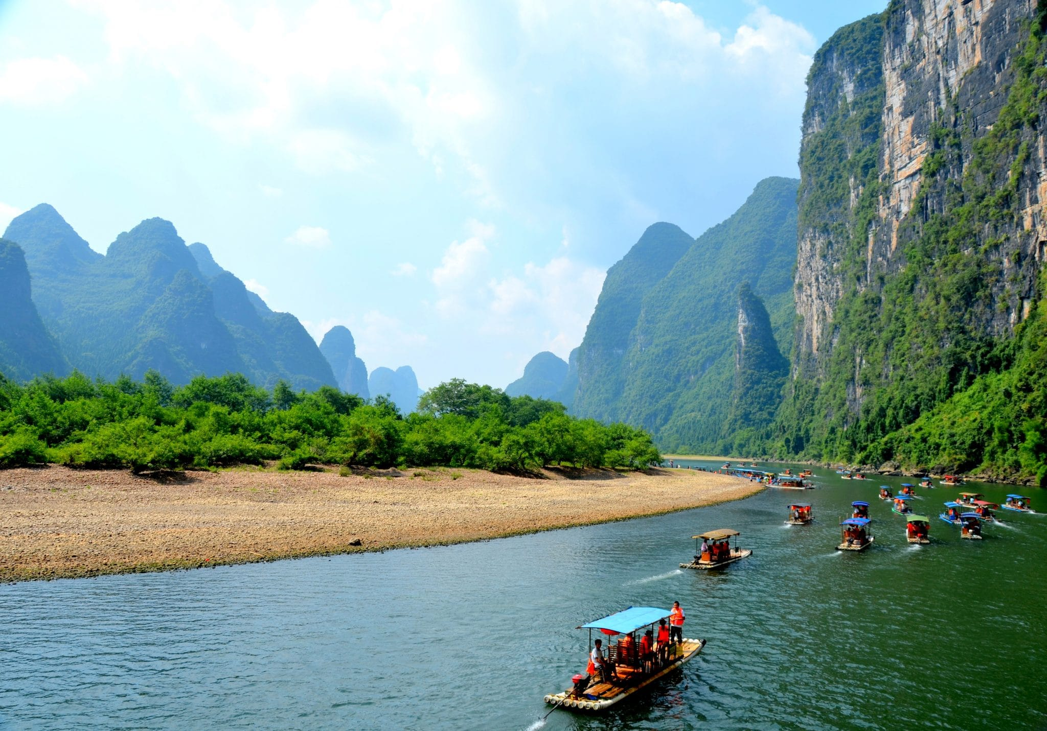 Li River is a top place to see in China
