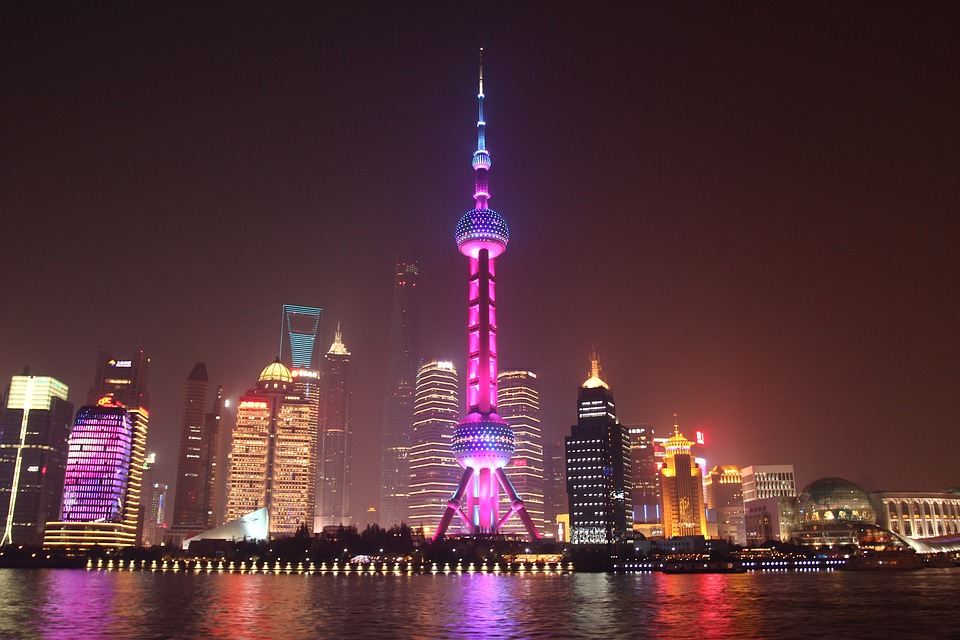 Shanghai bund is a top place in china