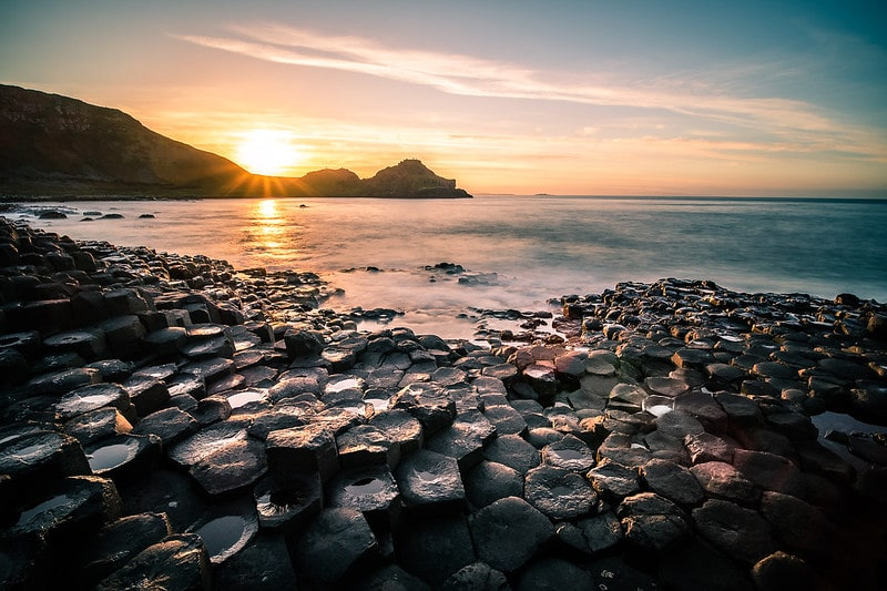 The Giant's Causeway, the number one attraction for the Irish Bucket List.