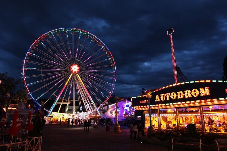 The Vienna Ferris Wheel, one of the Europe Bucket List.