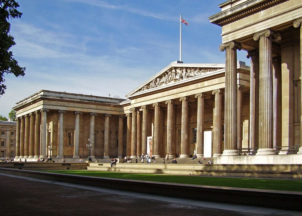 Visiting the British Museum is one of the best things to do in London.