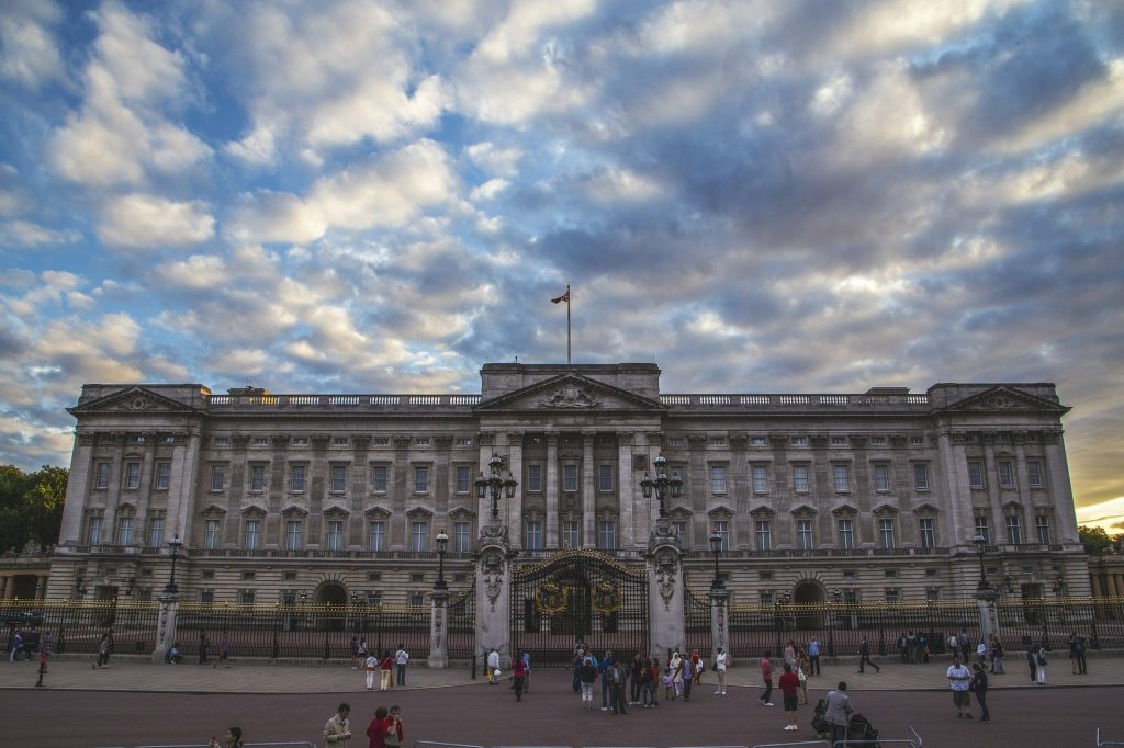 Buckingham Palace. One for the London Bucket List.