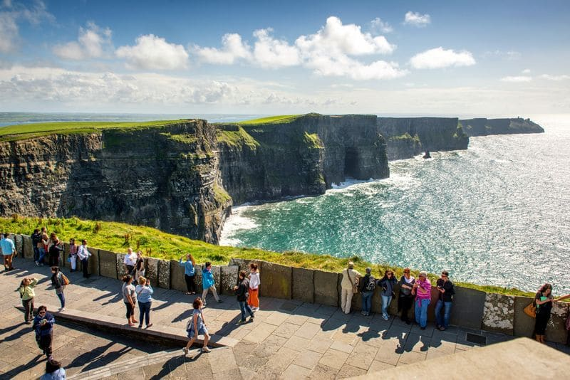 The famous Cliffs of Moher in County Clare, another trip for the Irish Bucket List.