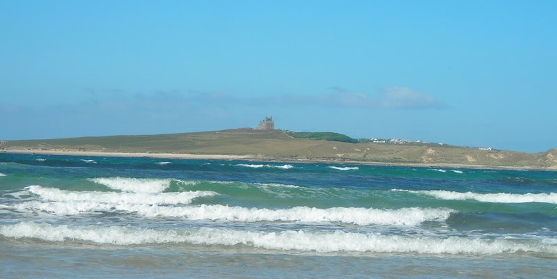 The Mullaghmore Beach in County Sligo. Surfing is popular here and is one for the Irish Bucket List.