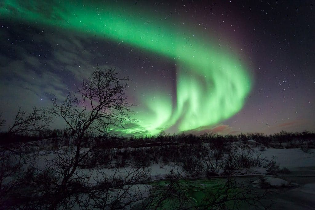 The breath-taking northern lights in Norway, the ultimate trip on the Europe Bucket List.