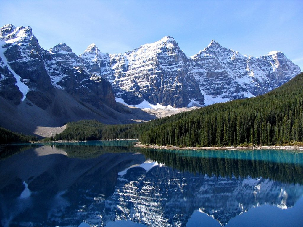The Rocky Mountains, one of the best things to do in America.