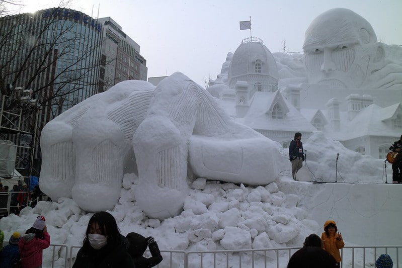 Witness the spectacle of Sapporo's snow festival for one of the best things to do in Japan.