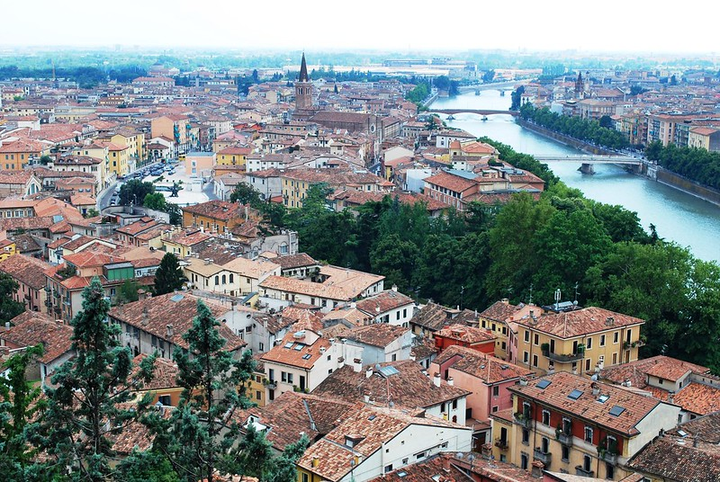 Visiting the beautiful city of Verona is one of the best things to do on the Italy Bucket List.