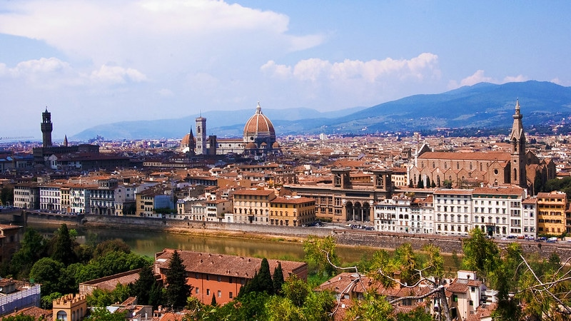 The views from Piazzale Michelangelo make this one of the best things on the Italy Bucket List.