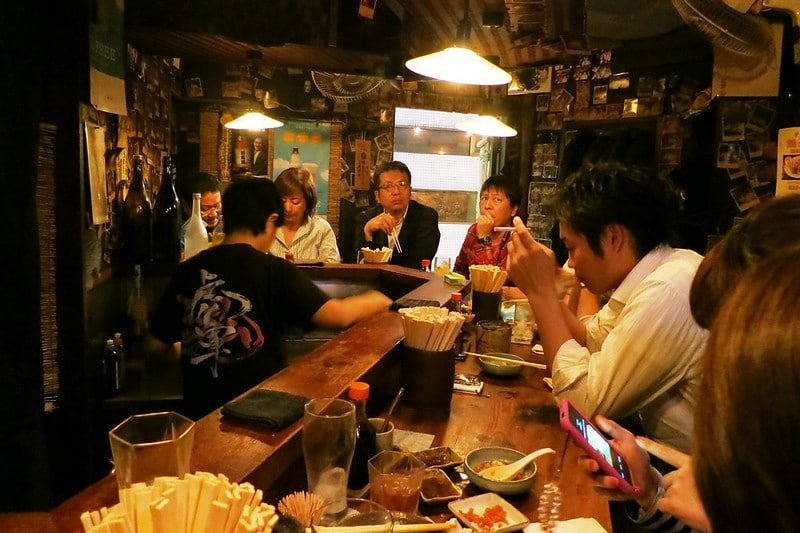 Enjoying the izakaya is one of the best things to do in Japan.