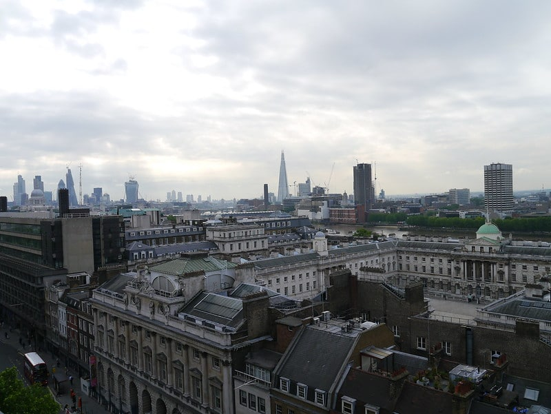 Having a drink atop of one of London's rooftop bars with stunning views of the city is one of the best bucket list examples.