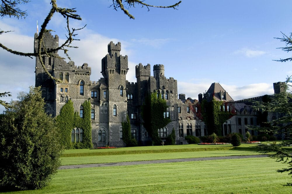 Ashford Castle in Mayo is now one of the best castles in Ireland.