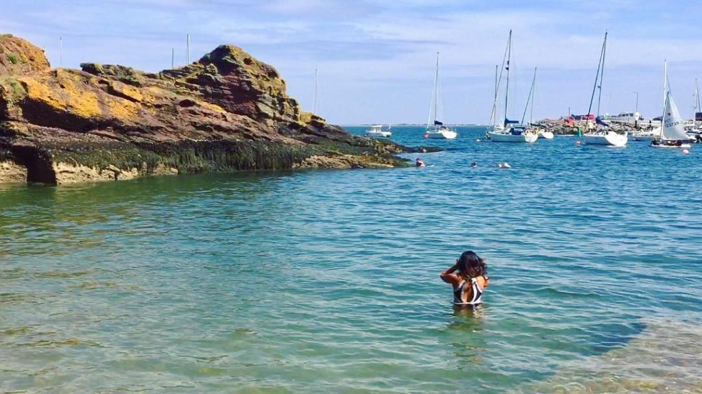 Badgers Cove, Co. Waterford – a secluded paradise and one of the best beaches in Ireland.