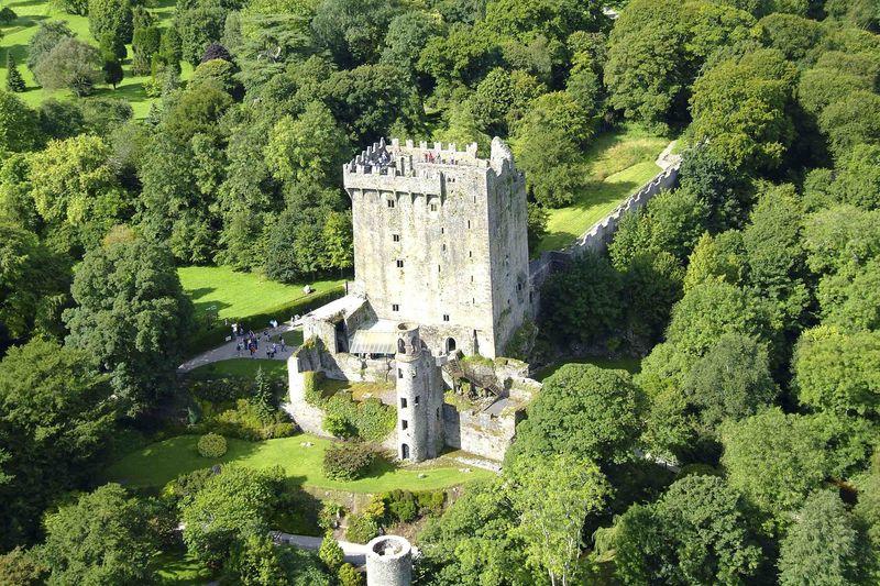 Blarney Castle, in County Cork, is one of the best castles in Ireland.
