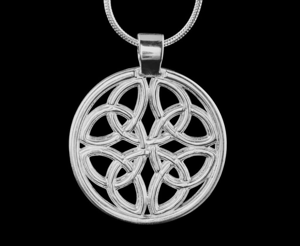 The Dara Knot is an Irish celtic symbol for strength and wisdom.