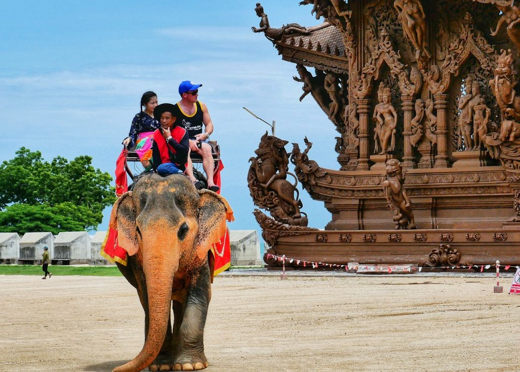 Visiting an ethical elephant sanctuary is one for the Thailand Bucket List.