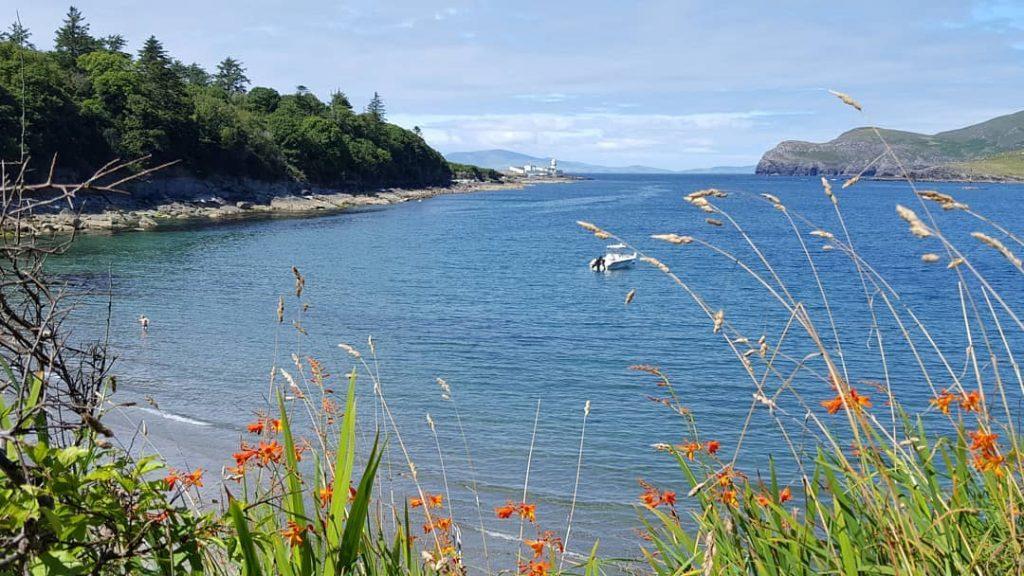 Glanleam Beach, Co. Kerry – a sunseekers delight.