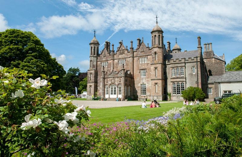 Glenarm Castle in County Antrim, one of the best castles in Ireland.
