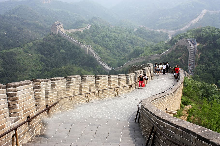 Walking the Great Wall of China is one of the best bucket list ideas.