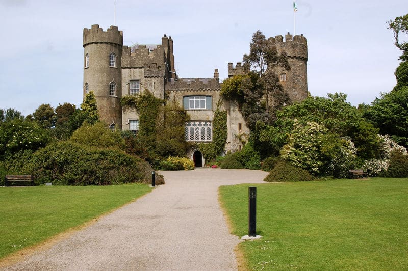 Malahide Castle is suitable for history lovers and is also one of the best castles in Ireland.