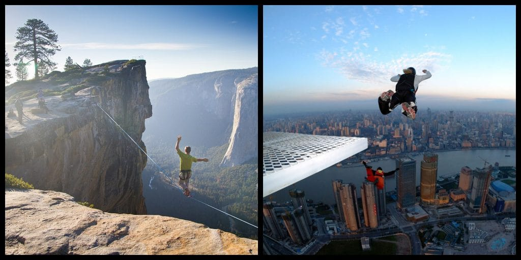 The 10 most extreme sports in the word, RANKED.