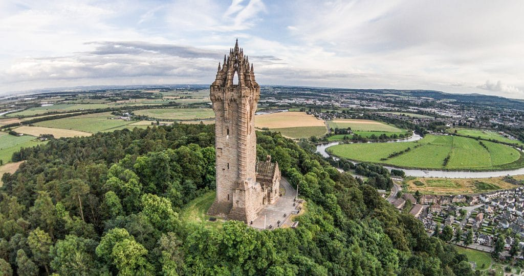 The National Wallace Monument, Stirling – visit a national monument erected for a national hero.