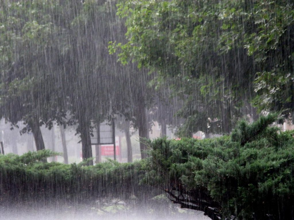 It always rains in Ireland! An Irish stereotype that is certainly true.