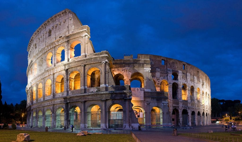 The Rome Colosseum, one of the city's standout landmarks and one of the best things to do on the Italy Bucket List.