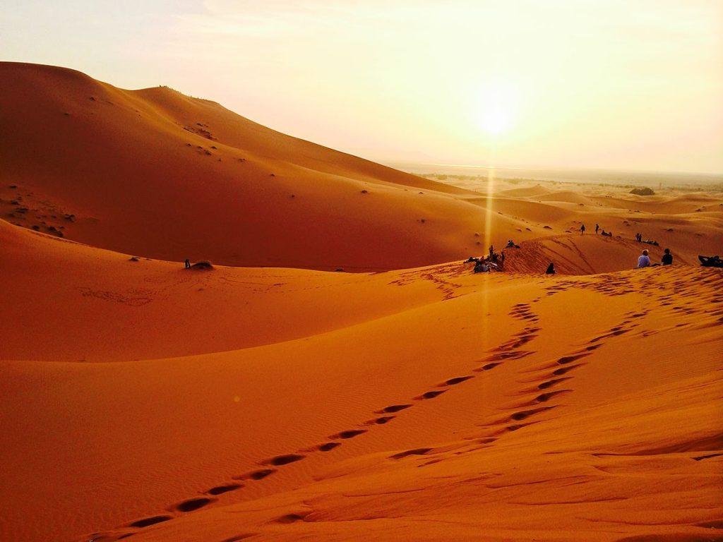 Riding through the Sahara Desert is one of the best bucket list ideas.