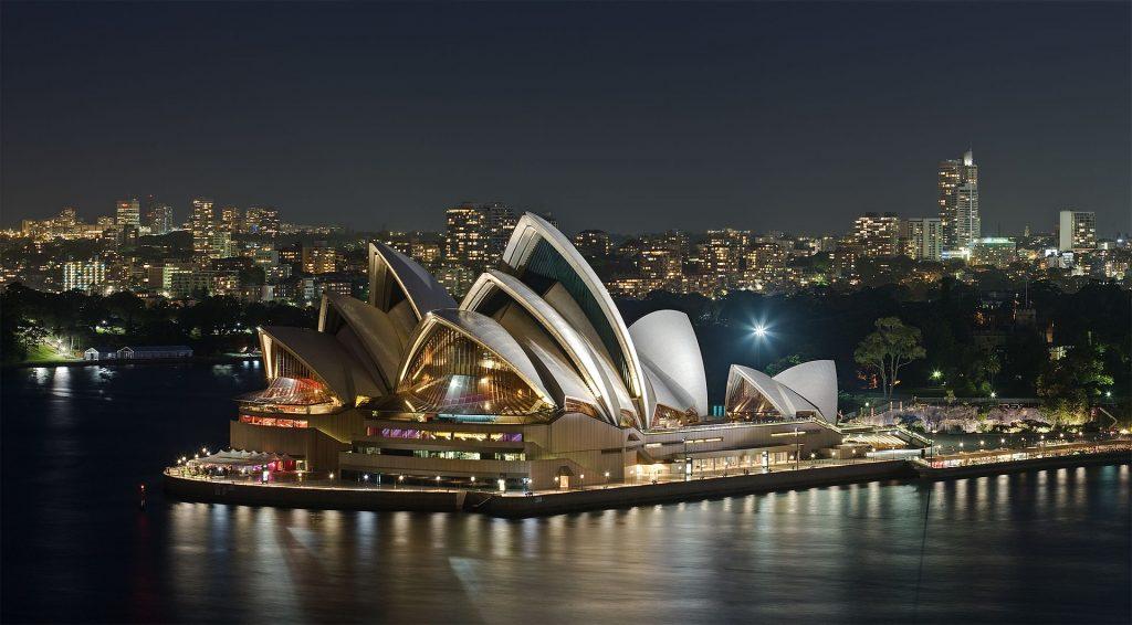 Grad a drink outside the Sydney Opera House  - one for the Australian Bucket List.