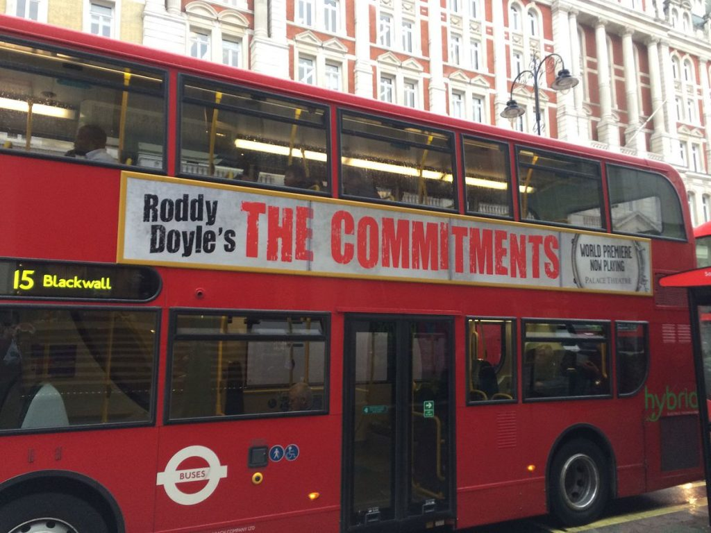 The Commitments (1991) - classic movie adaption of one of Roddy Doyle's classic novels