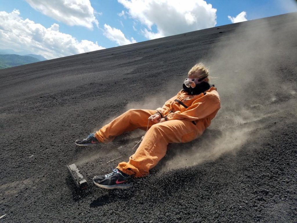 Volcano Boarding – for the natural disaster buff