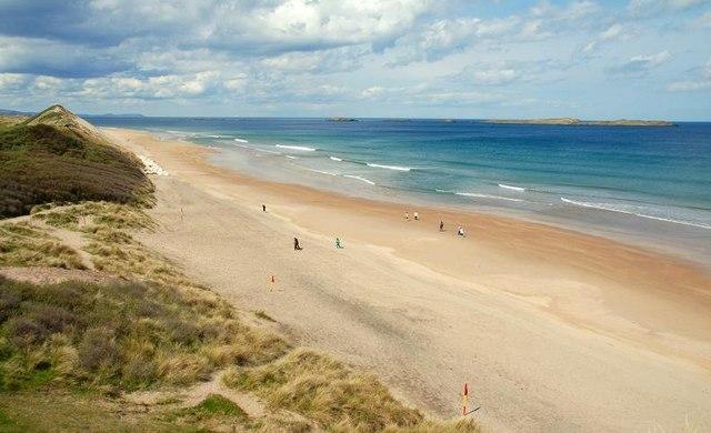 Whiterocks Beach, one of the best beaches in Ireland.