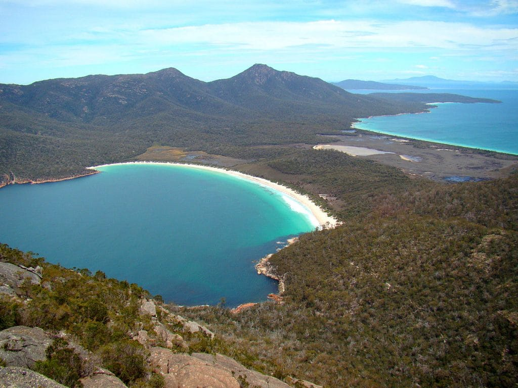 Visiting Wineglass Bay is one of the best things to do in Australia.
