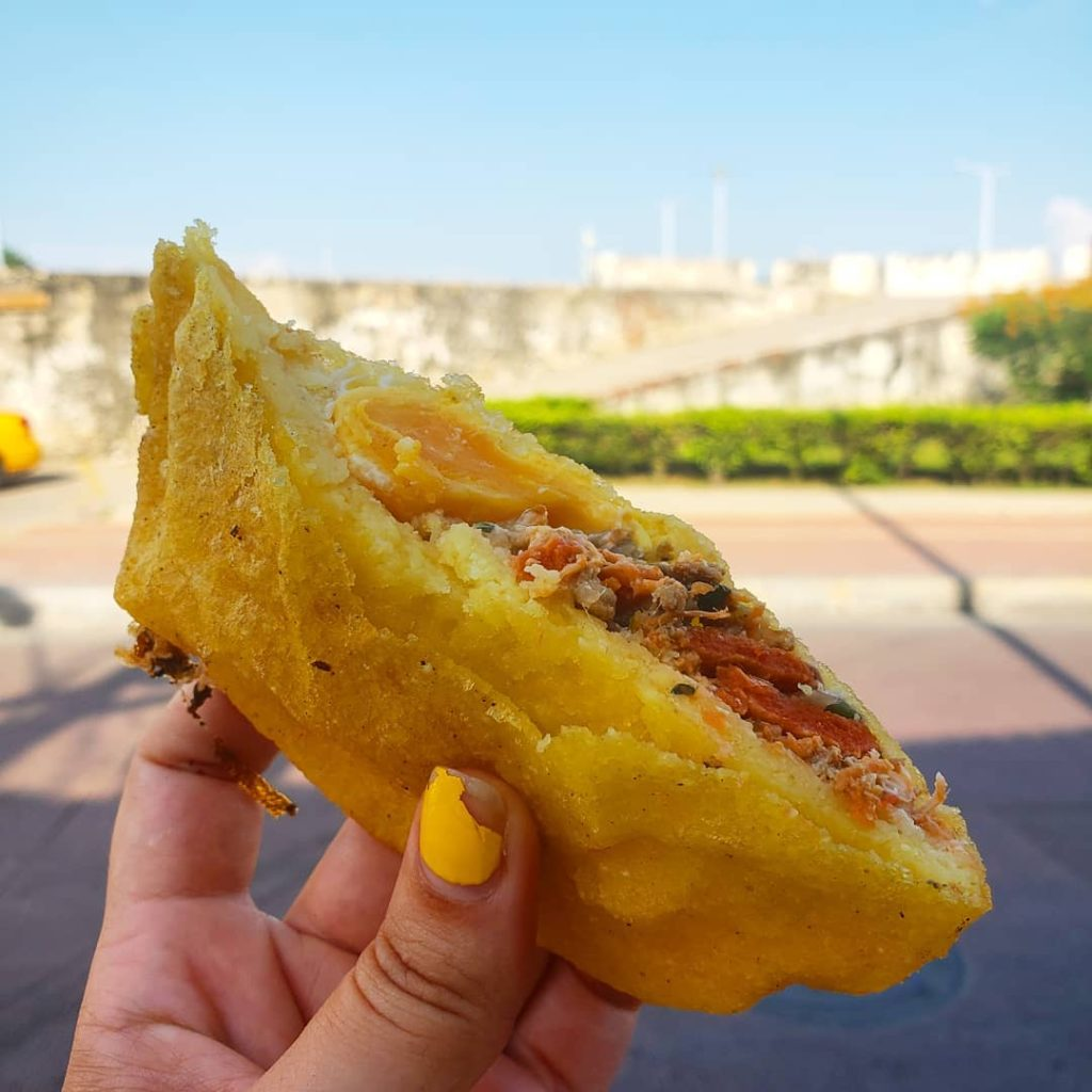 Cartagena is known to have some of the best street food in the world.
