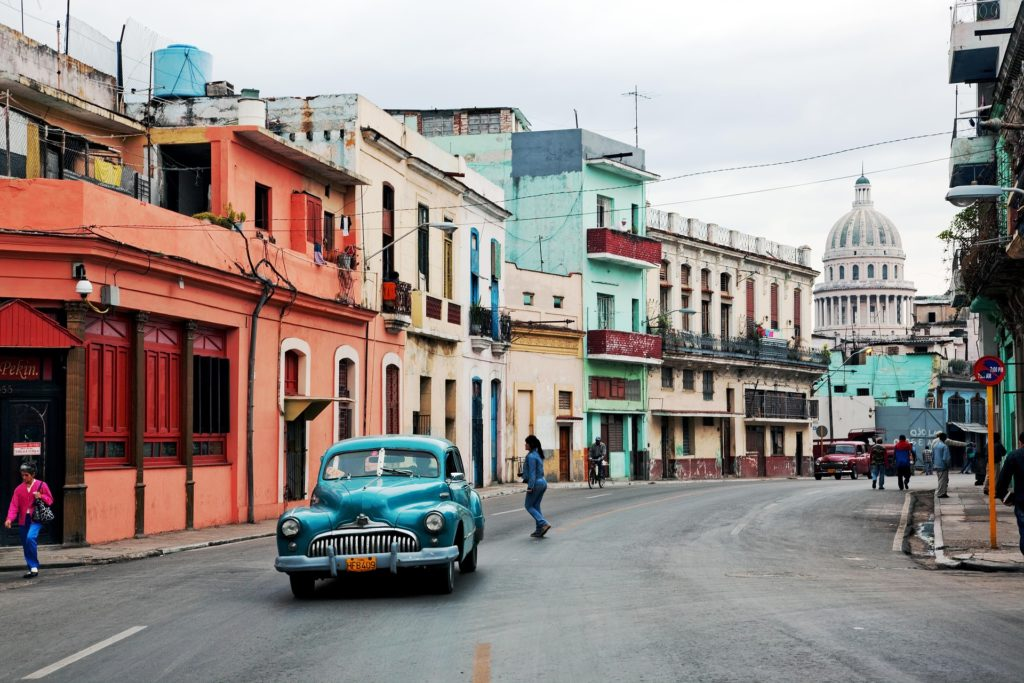Number one on our list of the most Instagrammable cities in the world is Havana, Cuba.