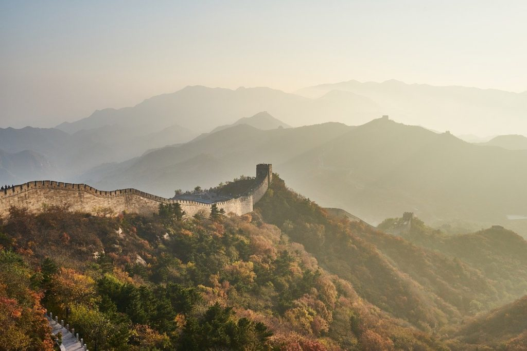 A walk on the Great Wall of China is one of the China bucket list top picks.