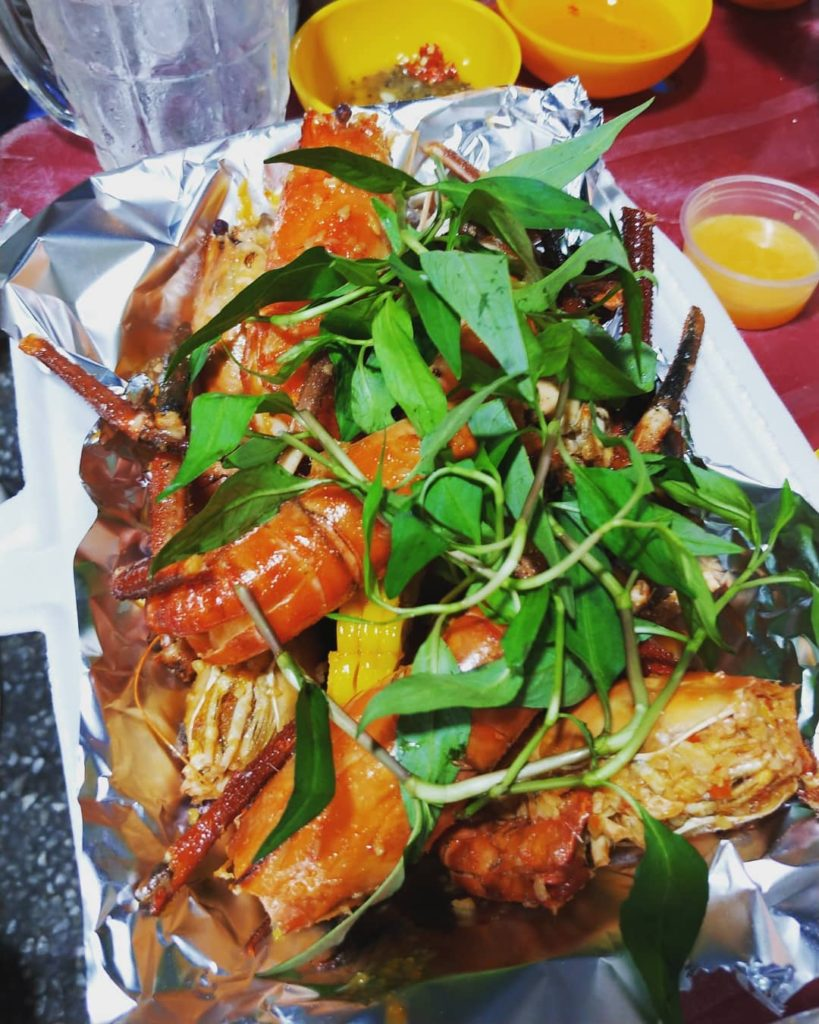 Ho Chi Minh in Vietnam has some of the best street food.