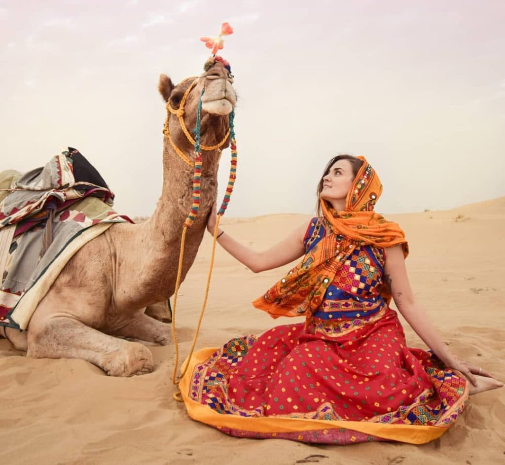 Jaisalmer Desert Festival is perfect for ancient customs and traditions.