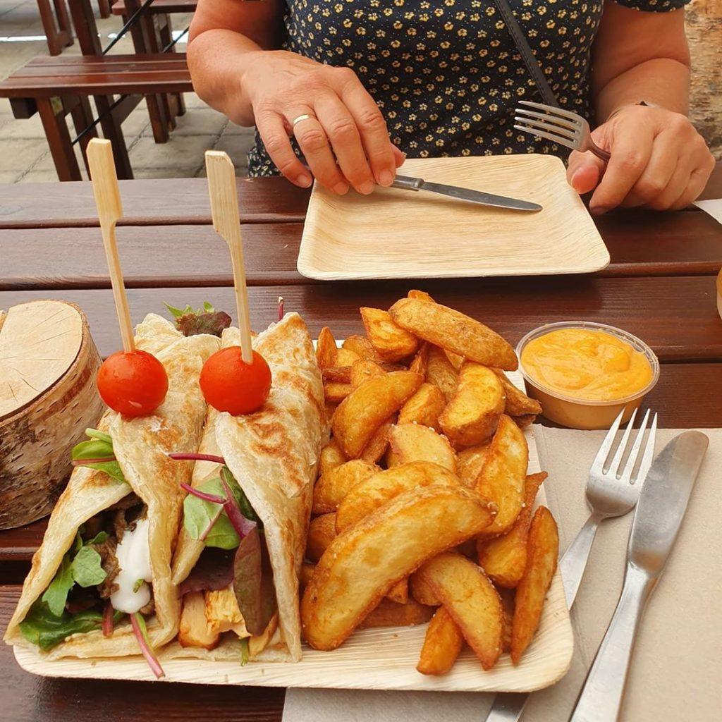 Street food in Marrakesh looks great!