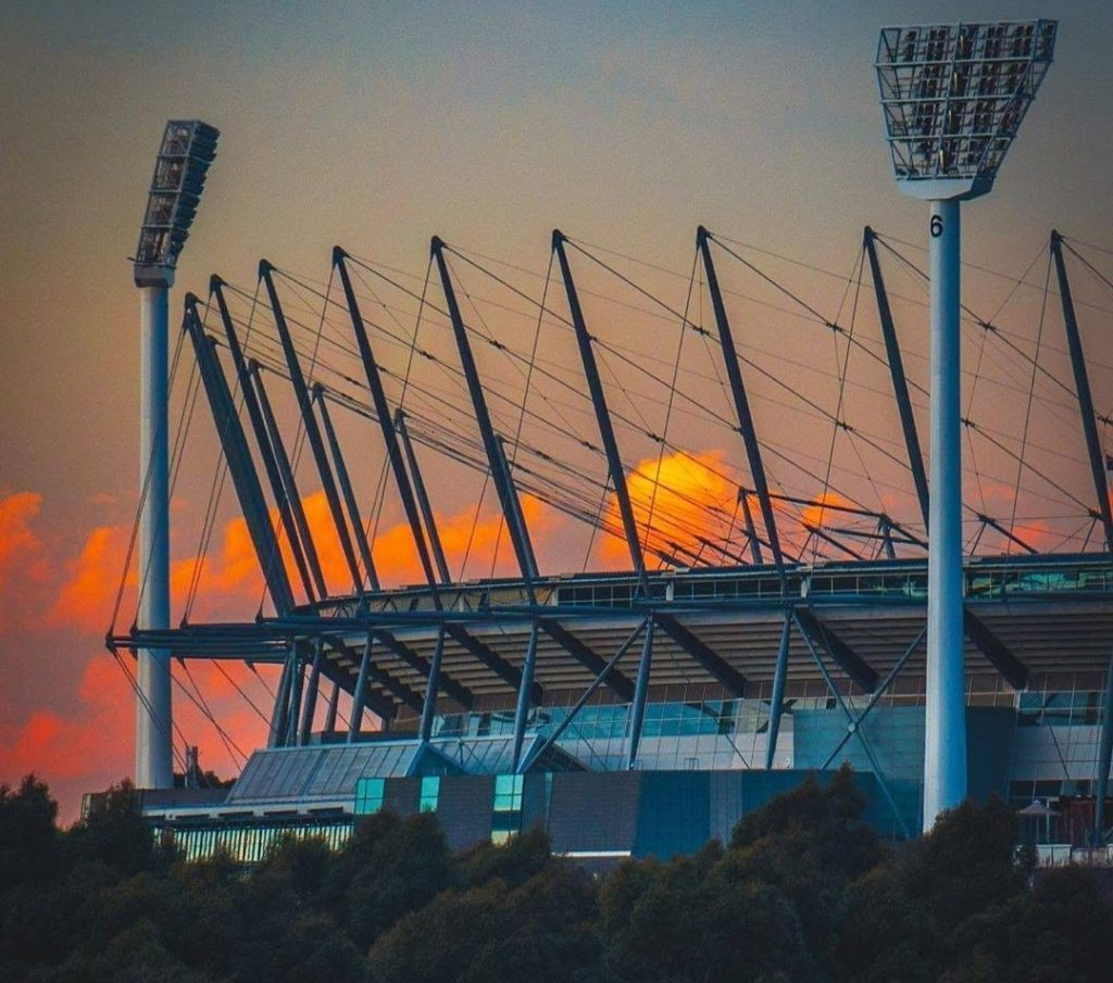 Catch a game at the MCG.