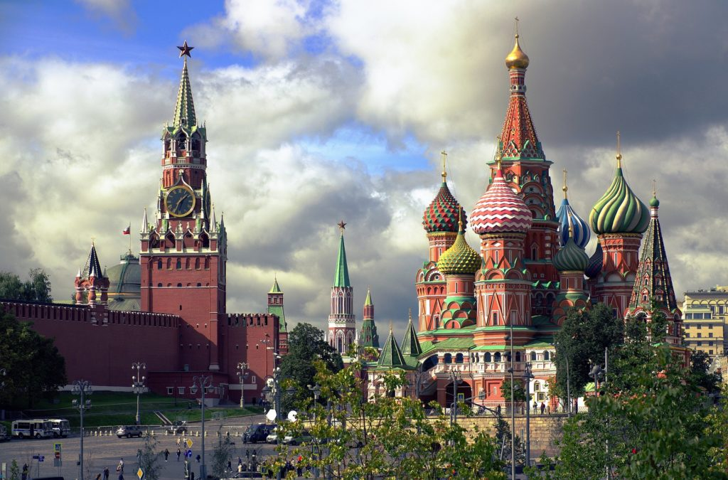 Halfway through our list of the most Instagrammable cities in the world is Moscow.