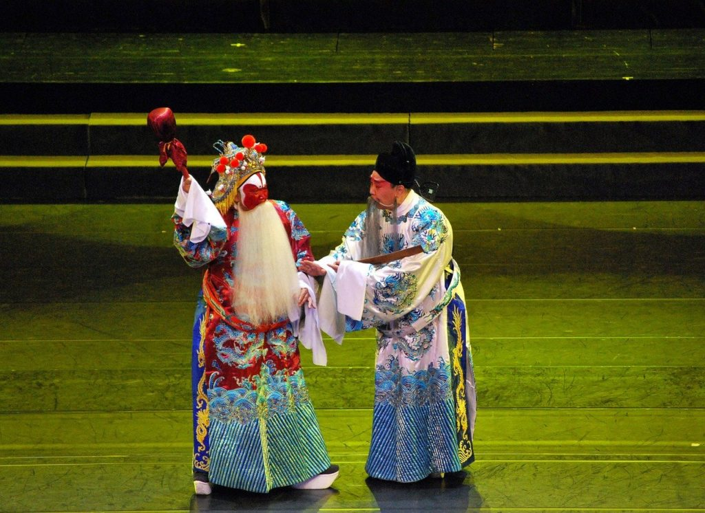Experience a Beijing Opera performance to witness culture in person.