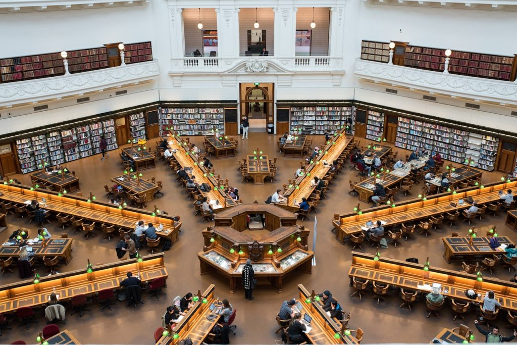 Next up on our Melbourne bucketlist is the State Library of Victoria.