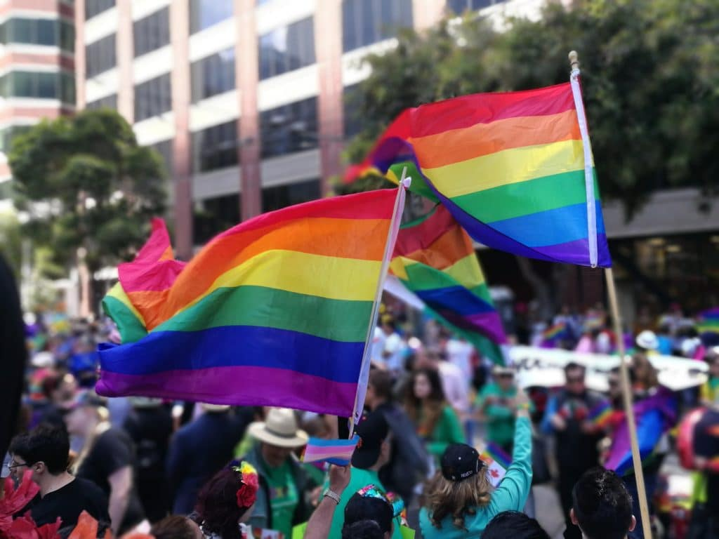 Another of the top cultural celebrations everyone needs to experience is the Gay Pride Parade in San Francisco.