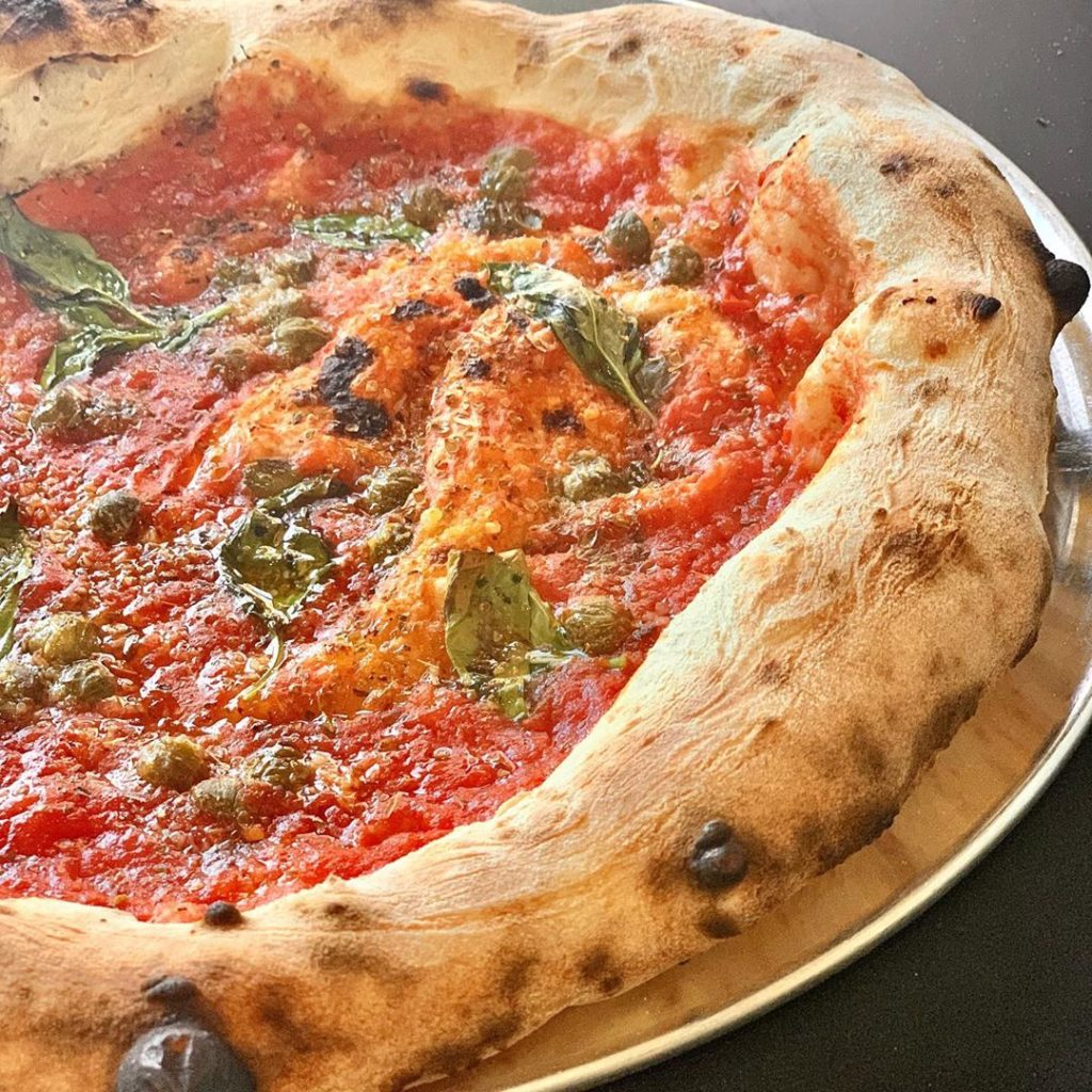Young Vegans Pizza Shop is another of the top best vegan pizza in London.
