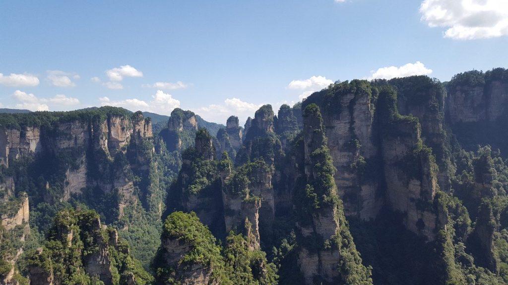 The Zhangjiajie Mountains are high on every China bucket list, believe us.