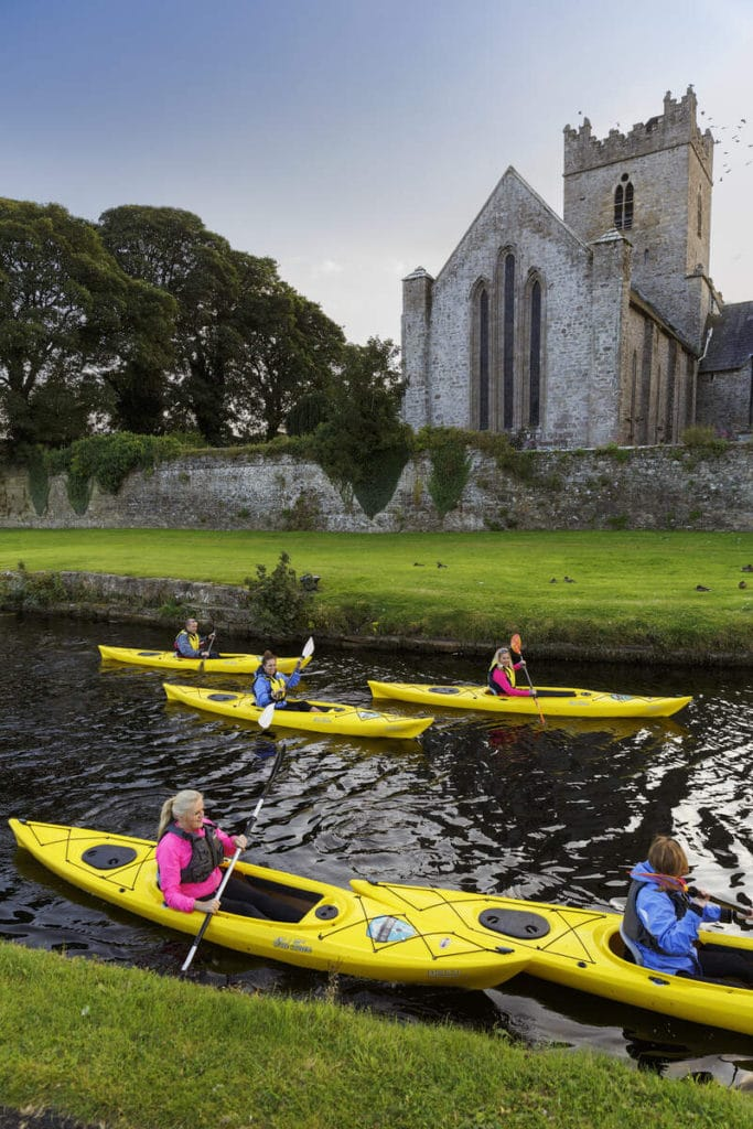 Canoeing in the Killaloe canals is another of the top things on our Irish adventure bucket list.