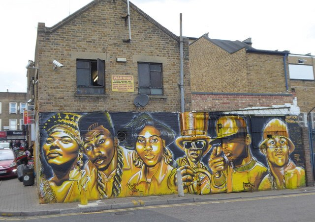 Dalston is one of the best places for street art in London.