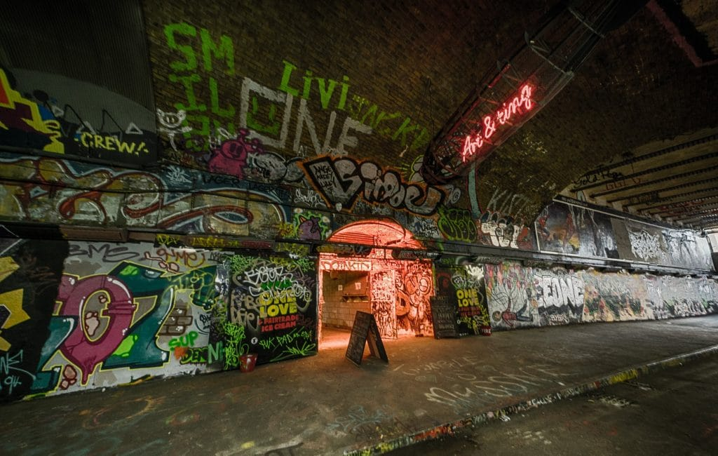 Leake Street Tunnel is a must-visit.